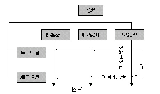 矩阵型组织结构的应用