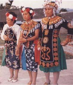 中国56个民族的服饰 全家福