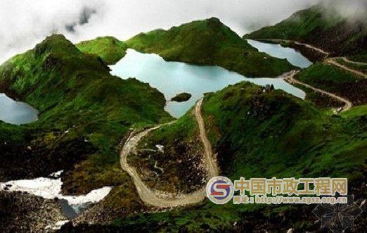 中国最险公路 墨脱公路 全线竣工